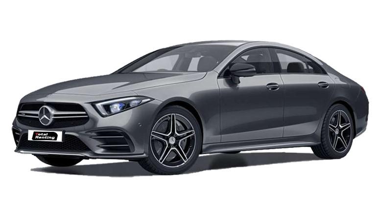 Renting Mercedes CLS