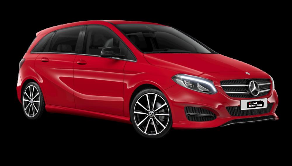 Renting Mercedes Clase B