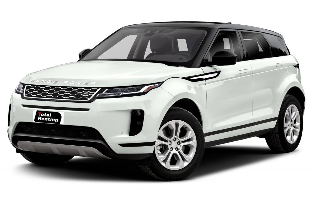 renting Land Rover Evoque