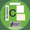 etiqueta ambiental c verde | Total Renting