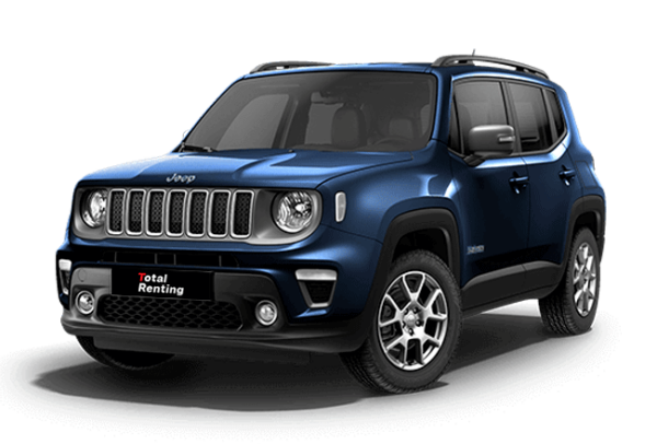 Jeep Renegade Limited PHEV | Total Renting