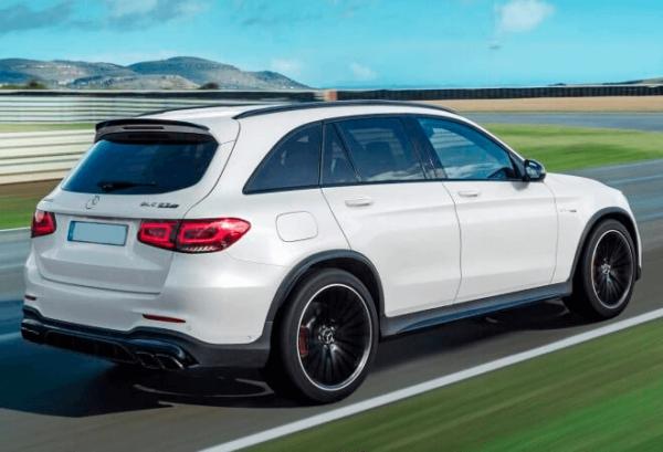 Mercedes GLC 4matic atras | Total Renting