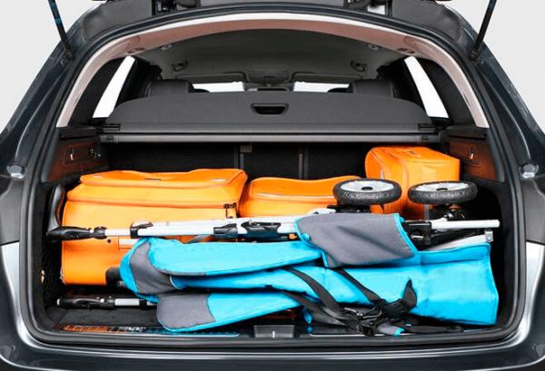 Mercedes GLC 4matic maletero | Total Renting