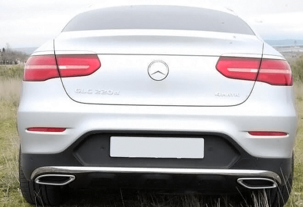 Mercedes GLC Coupe atras | Total Renting