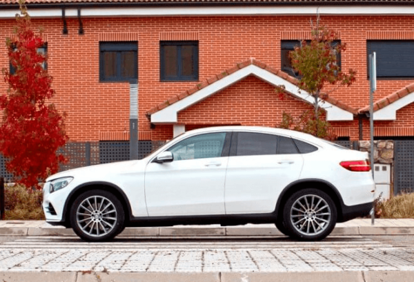 Mercedes GLC Coupe horizontal | Total Renting