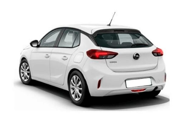 Opel Corsa atras   Total Renting