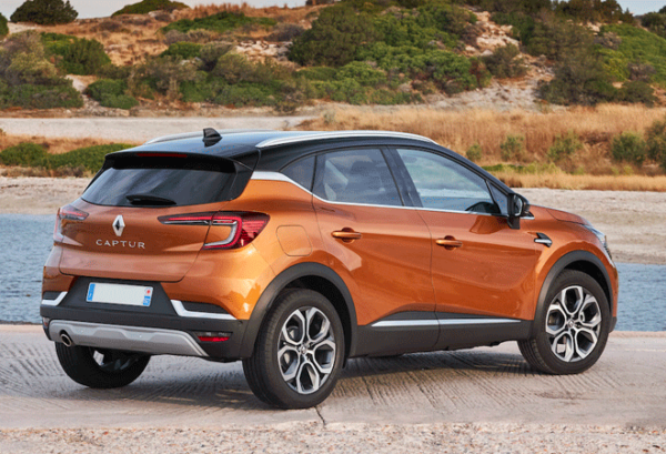 Renault Captur Intens Tce 140cv Gpf Micro Hibrido atras | Total Renting