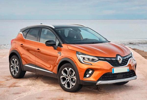 Renault Captur Intens Tce 140cv Gpf Micro Hibrido | Total Renting