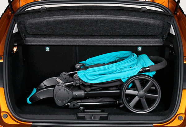Renault Captur Intens Tce 140cv Gpf Micro Hibrido maletero | Total Renting