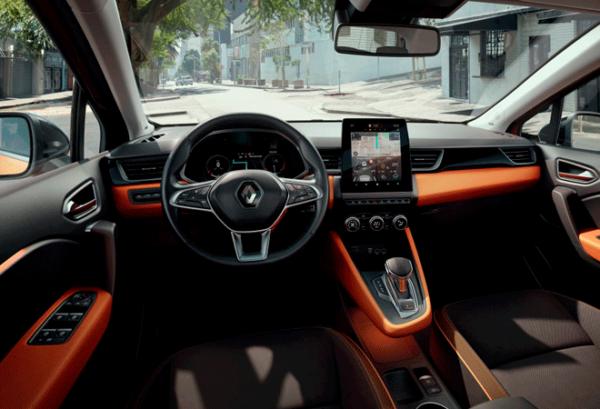Renault Captur Intens Tce 140cv Gpf Micro Hibrido tablero | Total Renting