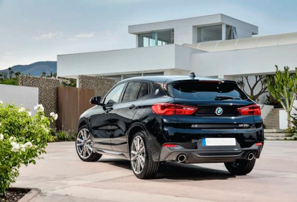 BMW X2 Sdrive18d atras   Total Renting