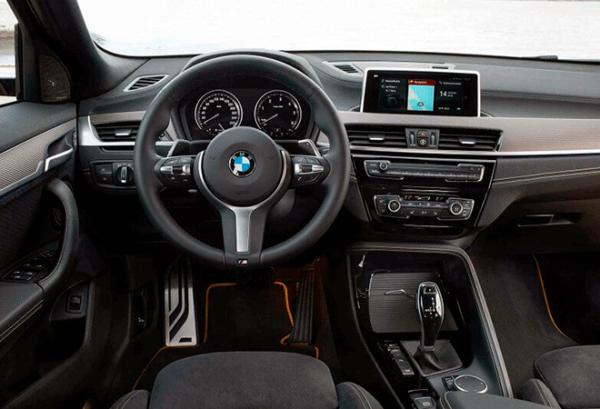 BMW X2 Sdrive18d tablero   Total Renting
