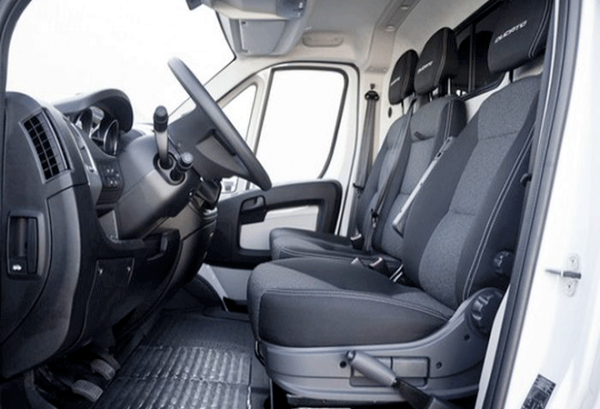 Fiat Ducato 35 L3h1 Natural Power Maxi interior | Total Renting