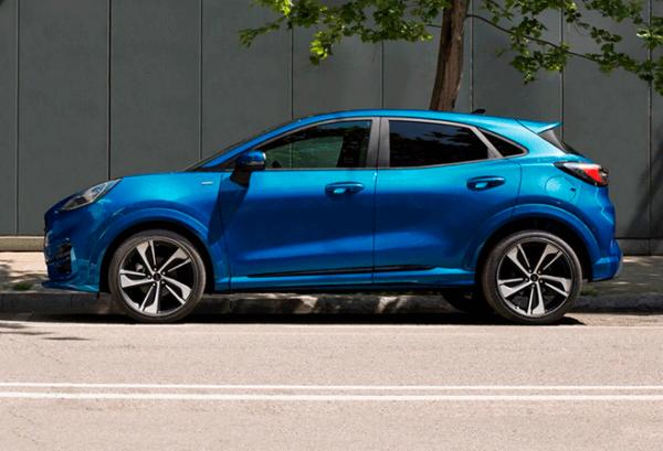Ford Puma 1.0 Ecoboost Titanium Mhev horizontal | Total Renting