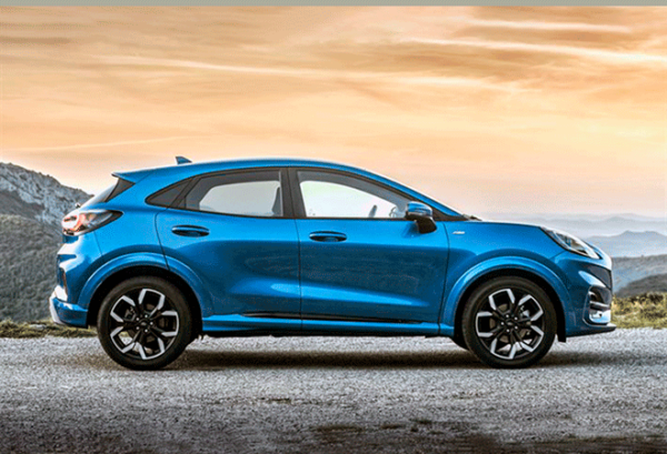 Ford Puma 1.5 Ecoblue 120cv Titanium horizontal | Total Renting