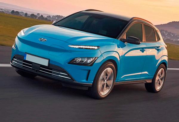Hyundai Kona 150 kW EV 72 kW Tecno 2020 | Total Renting