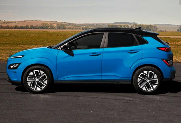 Hyundai Kona 150 kW EV 72 kW Tecno 2020 horizontal | Total Renting