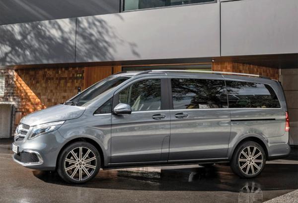Mercedes Clase V 220 D Largo horizontal | Total Renting