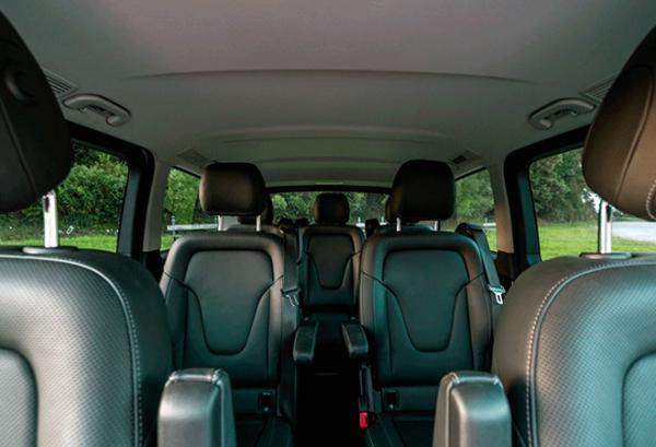 Mercedes Clase V 220 D Largo interior | Total Renting
