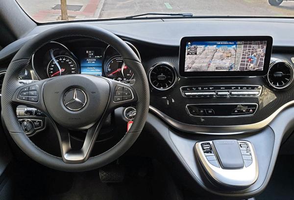 Mercedes Eqv 300 Largo e100 tablero | Total Renting