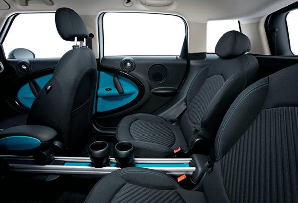 Mini Countryman Cooper D interior | Total Renting