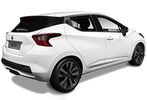 Nissan Micra ig atras | Total Renting