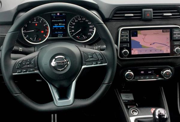 Nissan Micra ig tablero | Total Renting