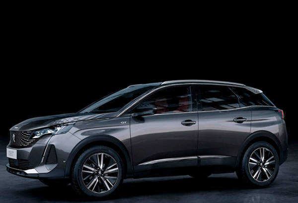 Peugeot 3008 1.5 Bluehdi SS Active Pack horizontal | Total Renting