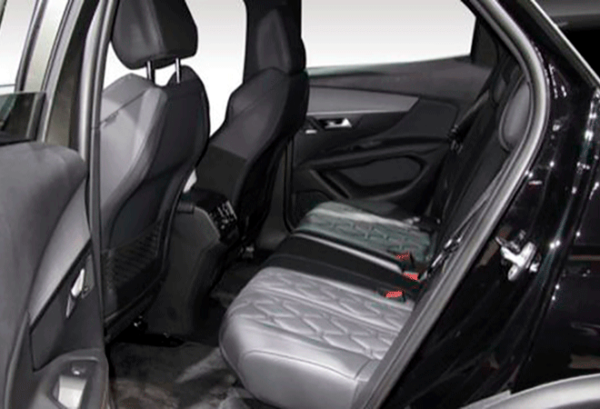 Peugeot 3008 1.5 Bluehdi SS Active Pack interior | Total Renting