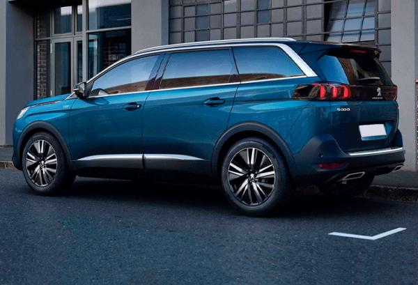 Peugeot 5008 1.5 Bluehdi SS Allure atras | Total Renting