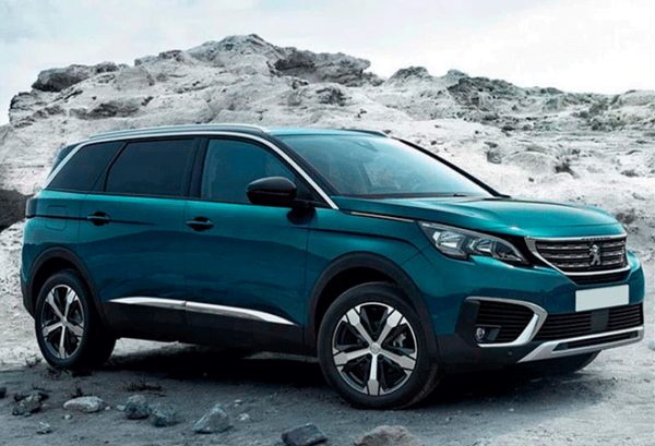 Peugeot 5008 1.5 Bluehdi SS Allure | Total Renting