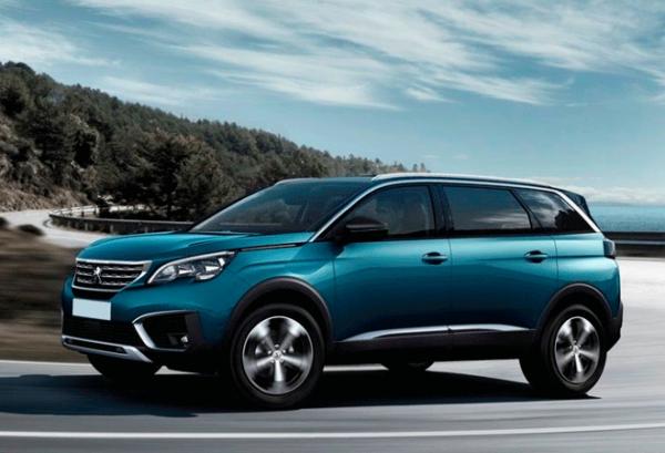 Peugeot 5008 1.5 Bluehdi SS Allure horizontal | Total Renting