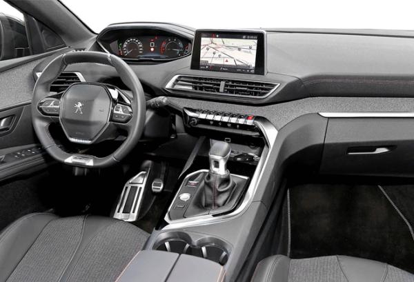 Peugeot 5008 1.5 Bluehdi SS Allure tablero | Total Renting