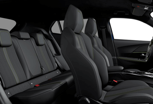 Peugeot E 2008 Electrico Allure Pack interior | Total Renting