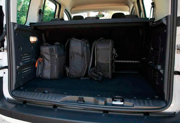 Renault Kangoo Furgon Profesional Blue Dci maletero | Total Renting