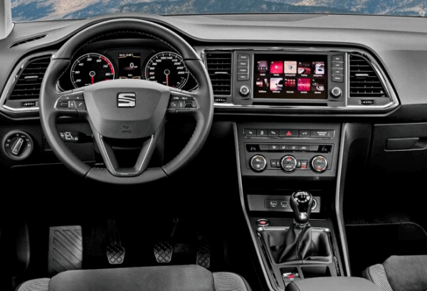Seat Ateca 2.0 TDI SS Style Go tablero | Total Renting