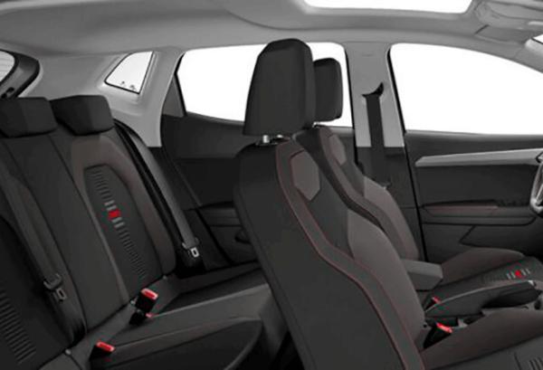 Seat Ibiza 1.0 Tsi Style interior   Total Renting