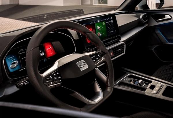 Seat Nuevo Leon E Hybrid tablero | Total Renting