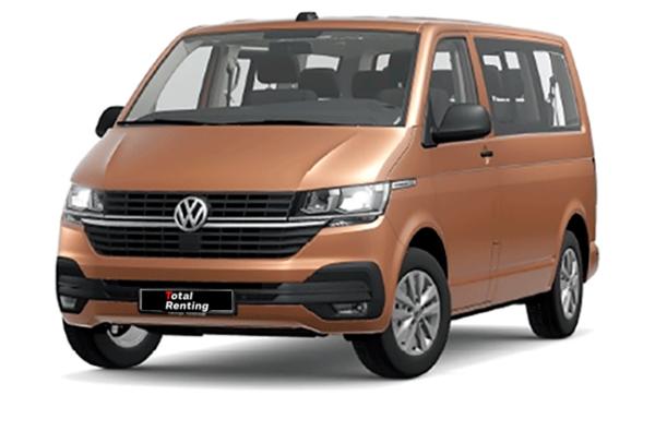 Volkswagen Caravelle batalla corta bronce | Total Renting