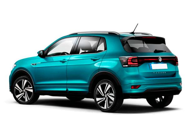 Volkswagen T Cross Edition 1.0 Tsi atras   Total Renting