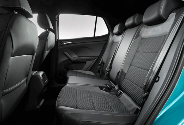 Volkswagen T Cross Edition 1.0 Tsi interior   Total Renting