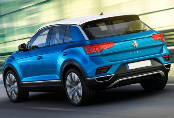 Volkswagen T Roc Edition 2.0 Tdi atras | Total Renting