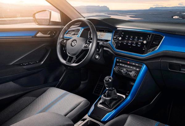 Volkswagen T Roc Edition 2.0 Tdi tablero | Total Renting
