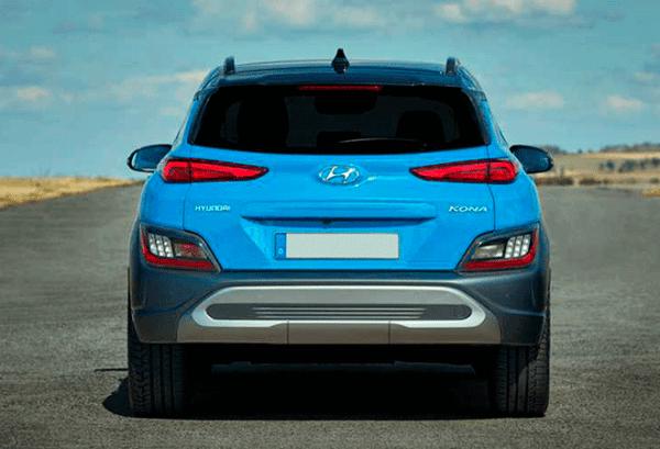 Hyundai Kona 1.6 GDI HEV Maxx DCT atras | Total Renting