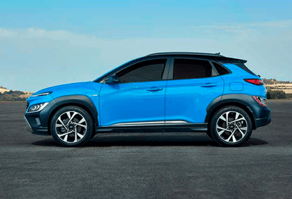 Hyundai Kona 1.6 GDI HEV Maxx DCT horizontal | Total Renting