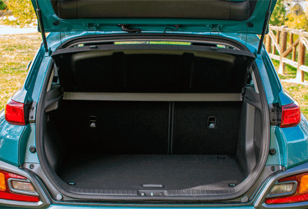 Hyundai Kona 1.6 GDI HEV Maxx DCT maletero | Total Renting