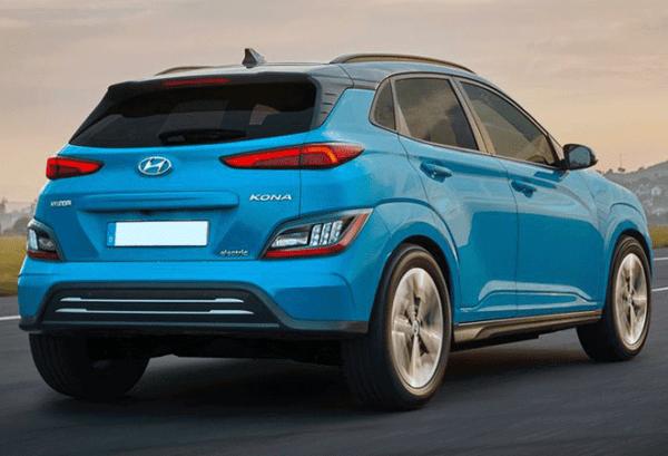 Hyundai Kona 100kW EV Maxx atras   Total Renting