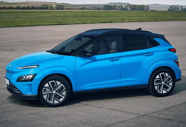 Hyundai Kona 100kW EV Maxx horizontal   Total Renting