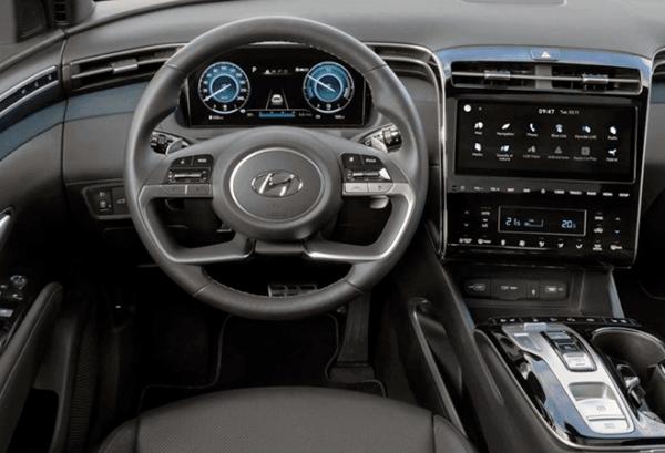 Hyundai Tucson 1.6 TGDI HEV Maxx Auto tablero | Total Renting