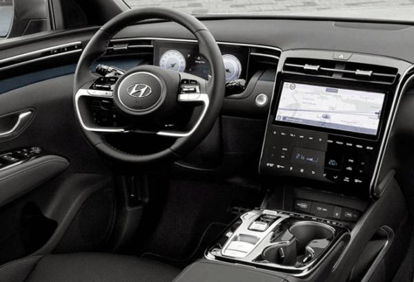 Hyundai Tucson 1.6 TGDI Klass tablero | Total Renting
